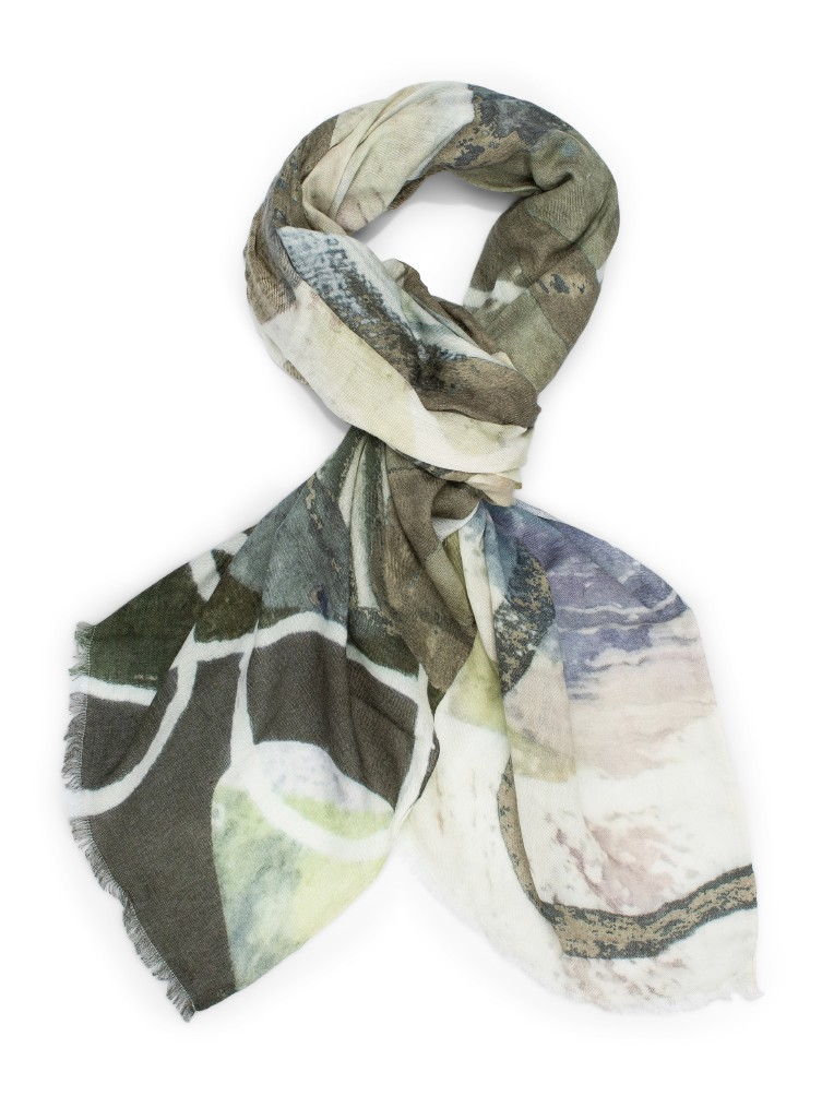 Katrin Uri. Forest creek scarf
