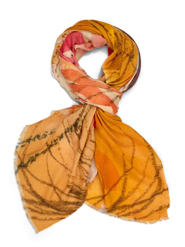 Katrin Uri. Sunset garden scarf