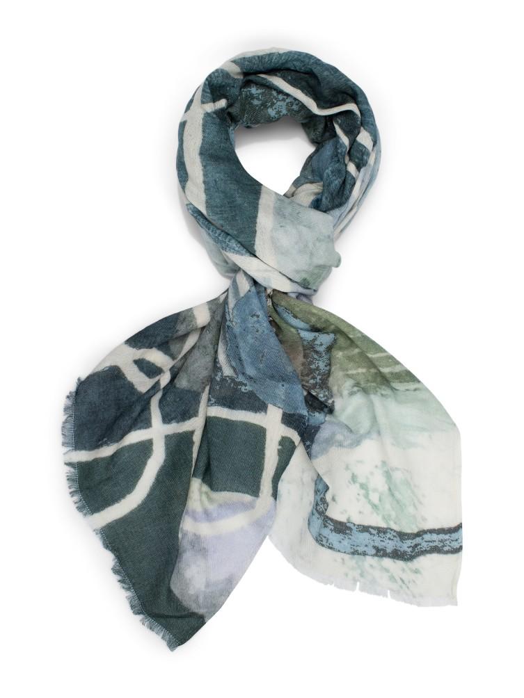 Katrin Uri. Ocean stream scarf